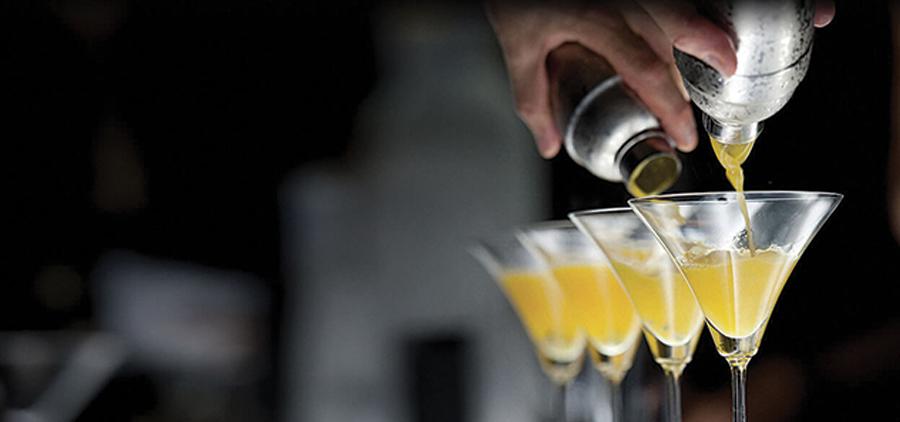 L'arte della miscelazione dei cocktails